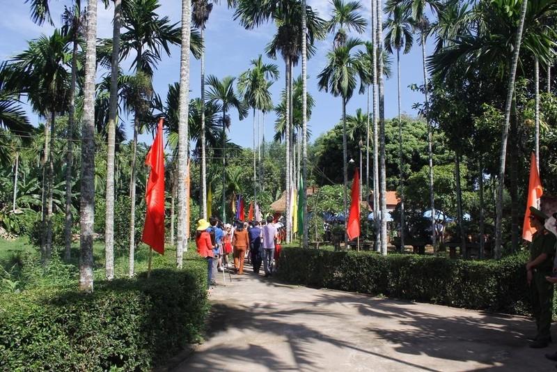 Quảng Ngãi tưởng niệm ngày mất cụ Huỳnh Thúc Kháng.   - ảnh 1