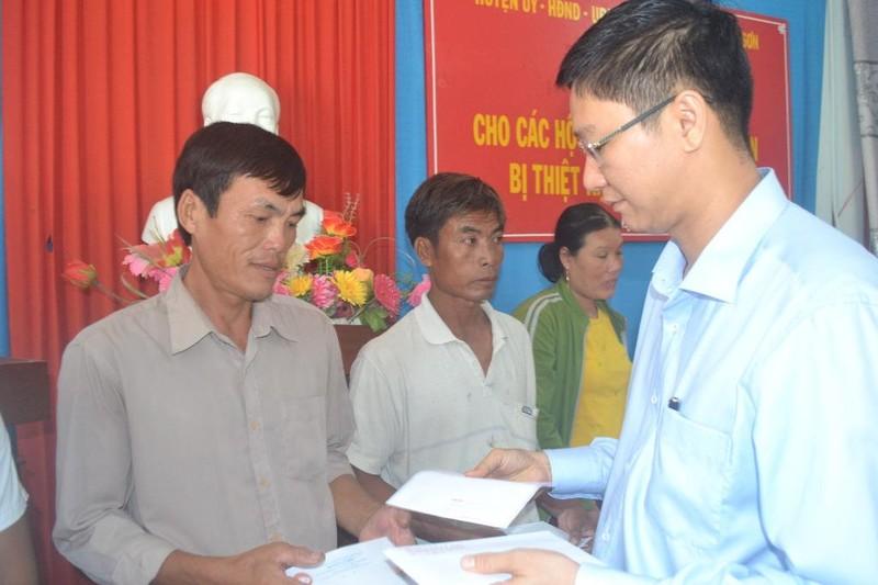Lý Sơn: Hỗ trợ 171 triệu đồng cho các chủ lồng bè - ảnh 1