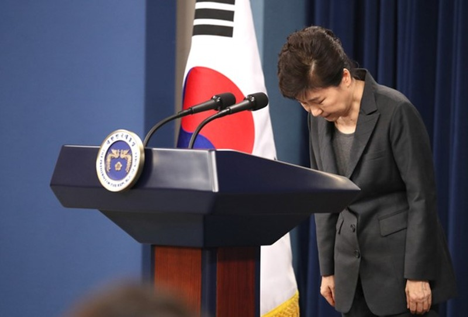 Tổng thống Hàn Quốc chính thức bị phế truất - ảnh 1
