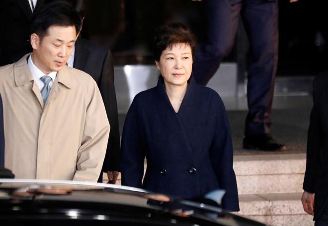 Bà Park Geun-hye đối diện mức án 45 năm tù - ảnh 1