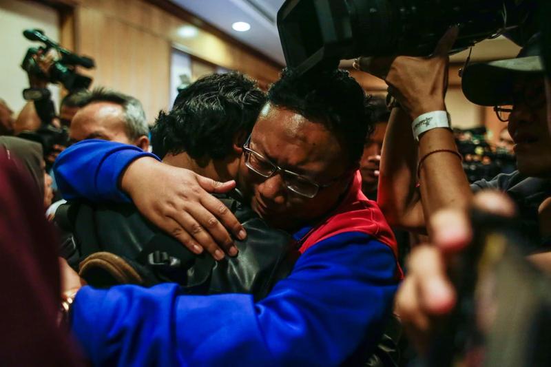 9 người Malaysia bị kẹt vì vụ Kim Jong-nam đã về nước - ảnh 1