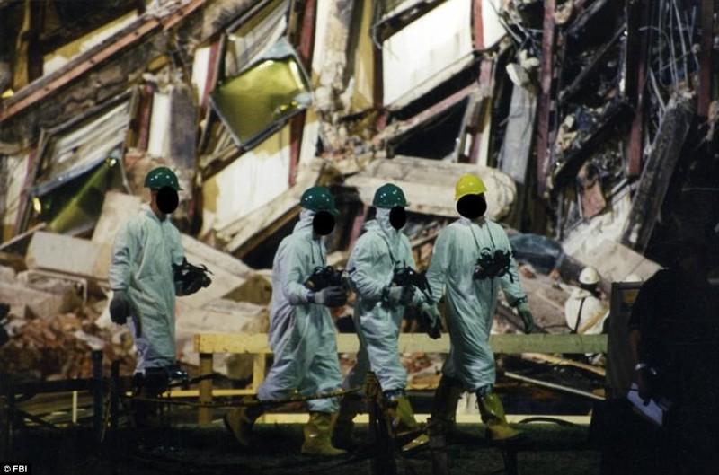 Ảnh Lầu Năm Góc tan hoang sau vụ khủng bố 11-9 - ảnh 5