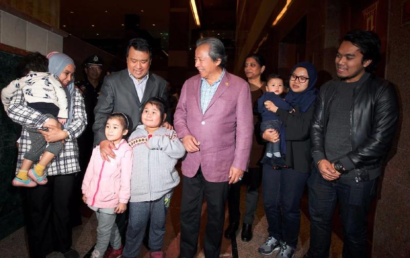 9 người Malaysia bị kẹt vì vụ Kim Jong-nam đã về nước - ảnh 2