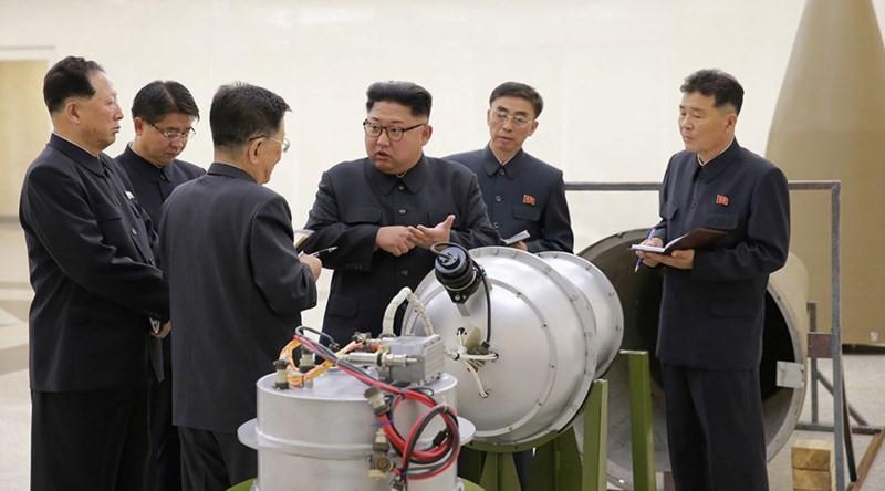Triều Tiên tuyên bố thử thành công siêu bom khinh khí - ảnh 1