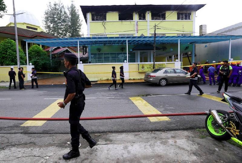 Cháy lớn tại trường học Malaysia, 25 người thiệt mạng - ảnh 2
