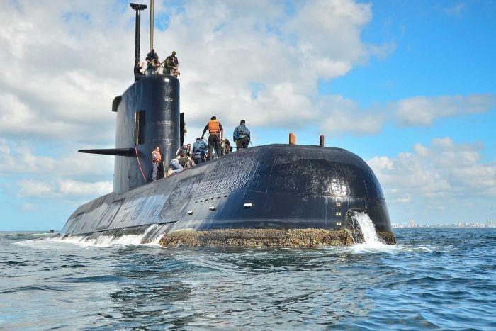Tàu ngầm 44 thủy thủ của Argentina sắp hết dưỡng khí? - ảnh 2