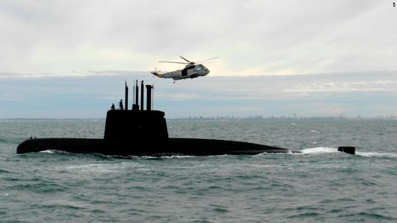 Tàu ngầm 44 thủy thủ của Argentina sắp hết dưỡng khí? - ảnh 1