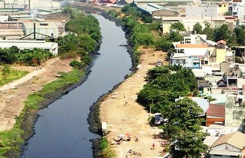 Giao mặt bằng dự án cải tạo Tham Lương – Rạch Nước Lên - ảnh 1
