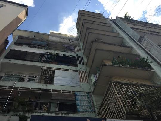 TP.HCM di dời khẩn cấp chung cư 155 Bùi Viện - ảnh 1