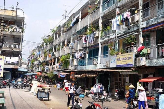 Lồng ghép nhiều chung cư vào gói đầu tư cải tạo - ảnh 1