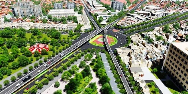 500 tỉ đồng xây cầu vượt chữ N ở Gò Vấp - ảnh 1