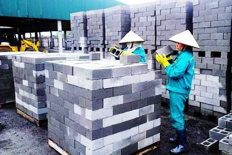 Xử phạt các cơ sở sản xuất vật liệu xây dựng - ảnh 1
