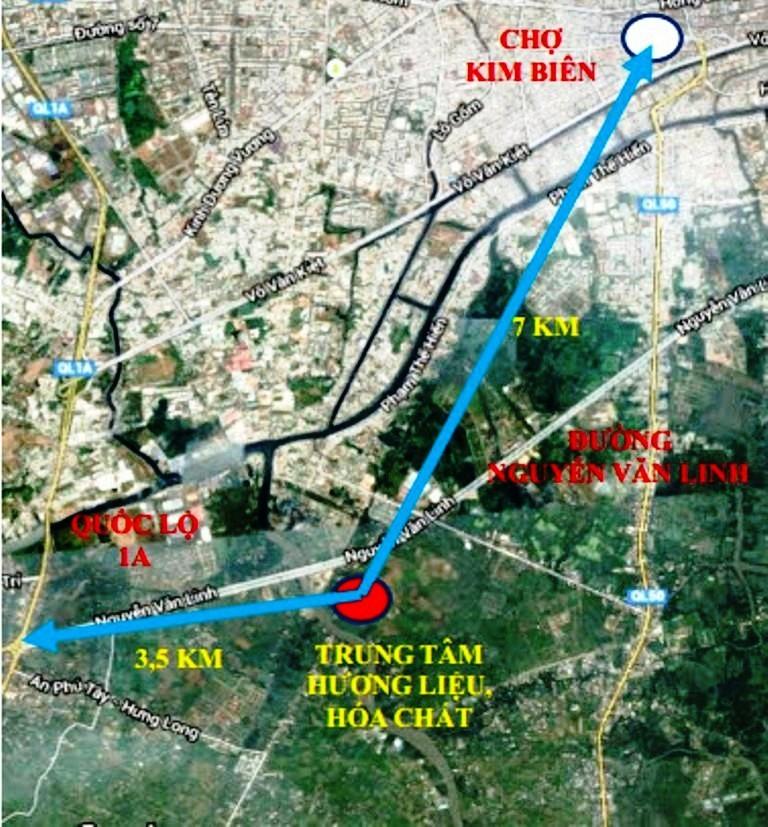 Xây Trung tâm kinh doanh hóa chất để dời chợ Kim Biên - ảnh 1
