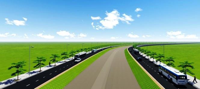 Thu hồi đất làm đường nối Võ Văn Kiệt với Trung Lương - ảnh 1