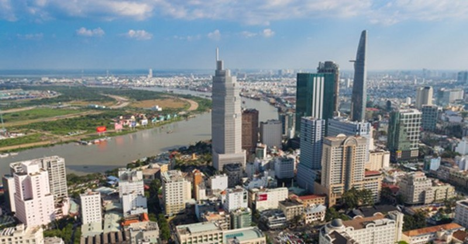 """Đua xả hàng bất động sản trên """"đất vàng"""" Sài Gòn - ảnh 1"""
