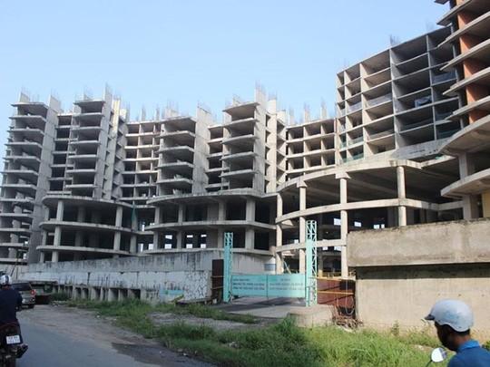 """Chủ đầu tư thế chấp dự án: Rủi ro lớn mua nhà """"trên giấy"""" - ảnh 1"""
