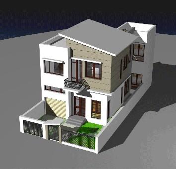 Phong thủy cho nhà trên đất méo - ảnh 1