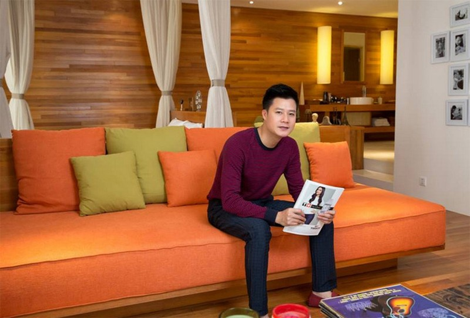 Không gian sống xanh mát của ca sĩ Quang Dũng - ảnh 6