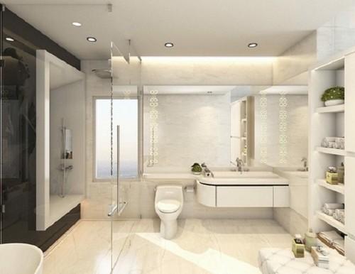 Choáng ngợp căn hộ trắng 20 tỷ đồng của Ngọc Trinh - ảnh 11