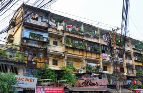 TP.HCM: Tháo dỡ và xây dựng mới 50% chung cư cũ đến năm 2020 - ảnh 1