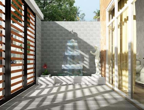 Ngôi nhà 4 tầng ngập tràn mảng xanh đẹp mê ly - ảnh 4