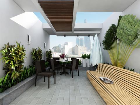 Ngôi nhà 4 tầng ngập tràn mảng xanh đẹp mê ly - ảnh 8