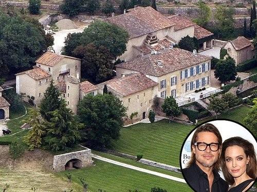 5 biệt thự xa hoa Angelina Jolie - Brad Pitt từng ở - ảnh 2