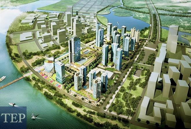 Vingroup đầu tư gần 6.800 tỷ đồng tại Thủ Thiêm - ảnh 1