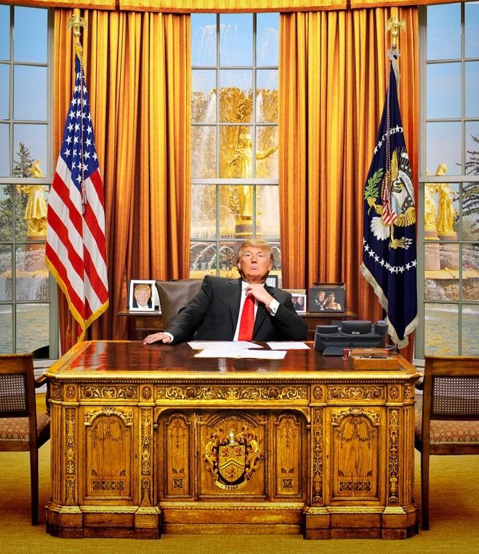 Donald Trump sẽ dát vàng toàn bộ Nhà Trắng? - ảnh 1