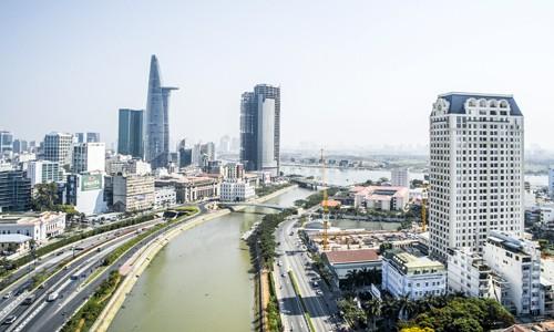 Cả trăm triệu đồng mỗi m2 căn hộ gần 'phố Wall' Sài Gòn - ảnh 1