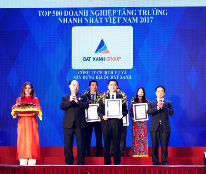 Đất Xanh vào top 150 DN tăng trưởng nhanh nhất Việt Nam - ảnh 1