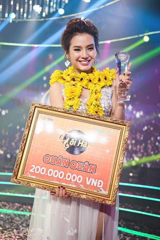 Phương Trinh Jolie đăng quang Hãy nghe tôi hát 2017 - Ảnh 3.