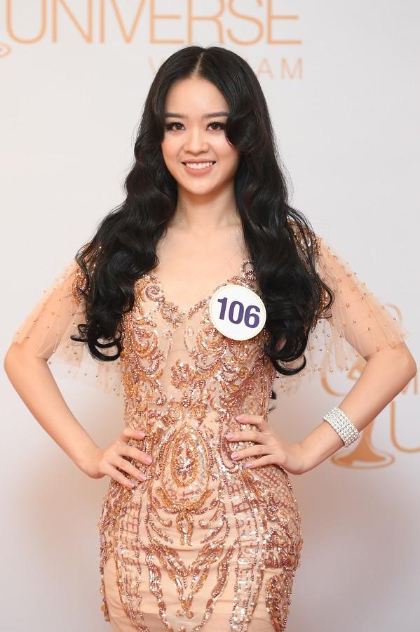Hoàng Hải Thu (sinh năm 1995) hiện là sinh viên Đại học Phòng cháy chữa cháy Hà Nội. Cô cao 1,7 m với các số đo 85-60-90 cm. Cô từng vào top 10 cuộc thi Người đẹp Kinh Bắc, á khôi cuộc thi Hoa khôi Người mẫu ảnh Việt Nam 2017. Ảnh VNE