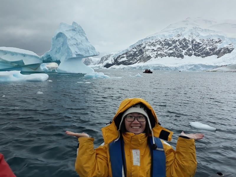 Hành trình chinh phục châu Nam Cực của cô gái Việt - ảnh 17