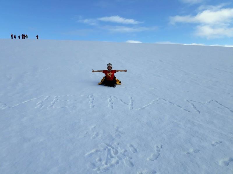 Hành trình chinh phục châu Nam Cực của cô gái Việt - ảnh 8
