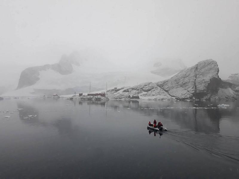 Hành trình chinh phục châu Nam Cực của cô gái Việt - ảnh 9
