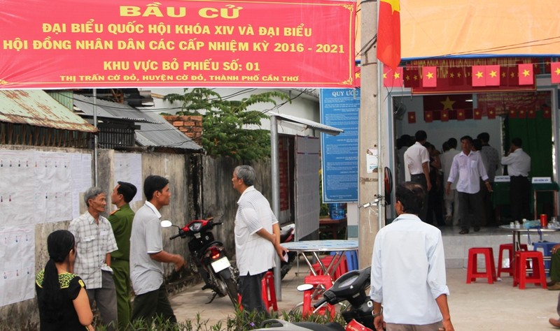 Bí thư Nguyễn Thanh Nghị cùng hơn 1 triệu cử tri Kiên Giang đi bầu cử - ảnh 4