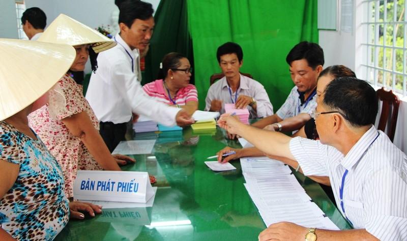 Bí thư Nguyễn Thanh Nghị cùng hơn 1 triệu cử tri Kiên Giang đi bầu cử - ảnh 5