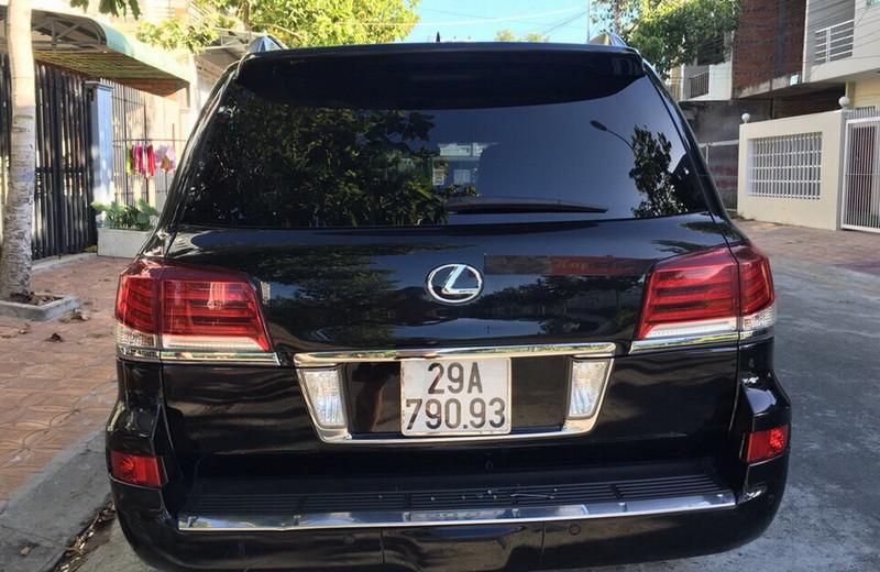 Phó chủ tịch tỉnh Hậu Giang trả lại biển số công của xe Lexus - ảnh 2