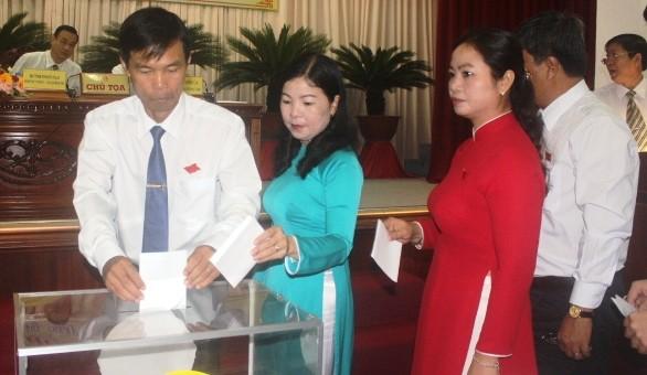 Ông Huỳnh Thanh Tạo tái đắc cử chủ tịch HĐND tỉnh Hậu Giang  - ảnh 3