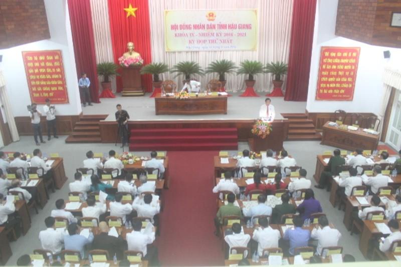 Ông Huỳnh Thanh Tạo tái đắc cử chủ tịch HĐND tỉnh Hậu Giang  - ảnh 1