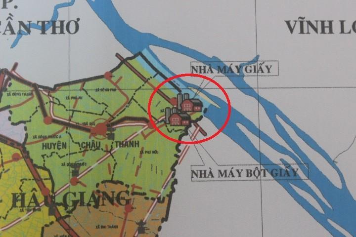 Vụ Lo nhà máy giấy 'bức tử' sông Hậu: Đề nghị Chính phủ vào cuộc - ảnh 1