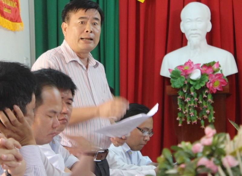 Nguyên phó chánh thanh tra kiện chủ tịch tỉnh Hậu Giang - ảnh 1