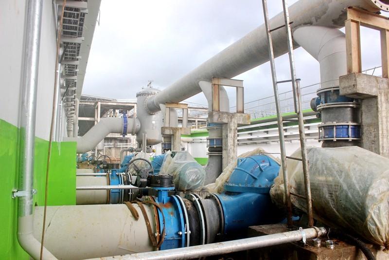 Một trong các hạng mục của khu xử lý nước thải của nhà máy giấy Lee&Man