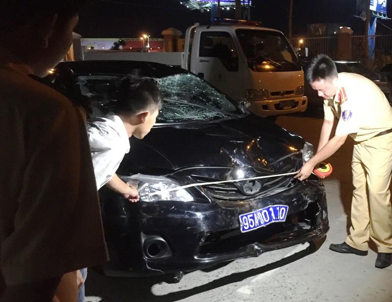 Công an tạm giữ tài xế của Sở Tài chính Hậu Giang gây tai nạn liên hoàn  - ảnh 1