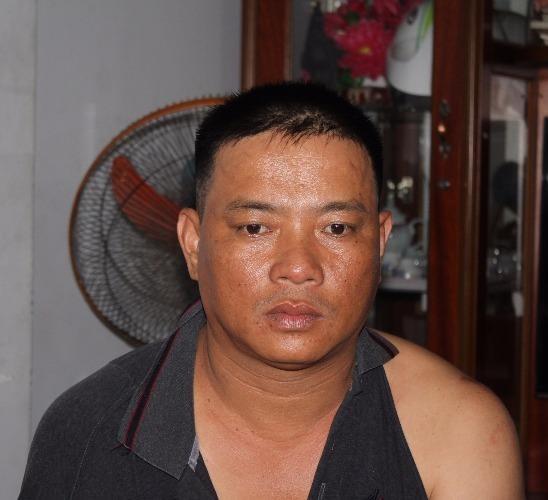 Lê Thành Phúc (40 tuổi) - cầm đầu đường dây thầu đề - ảnh CTV P.T
