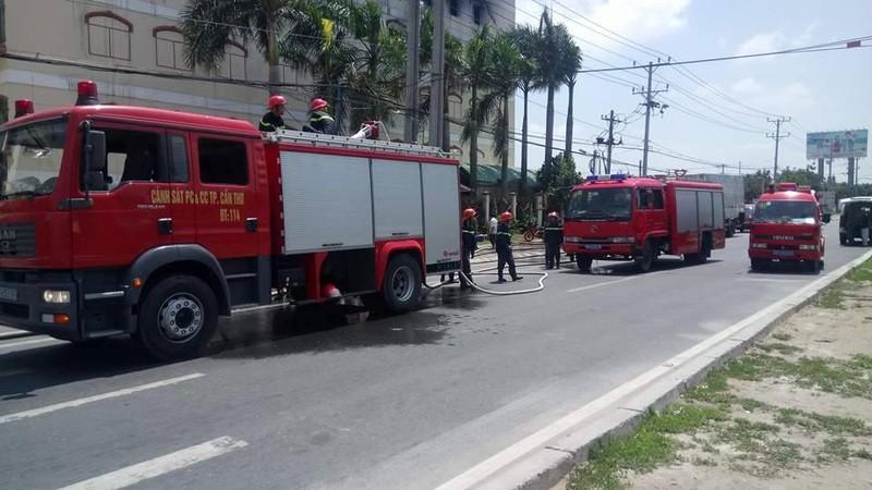 Lại cháy ở Công ty Kwong Lung - Meko ở Cần Thơ - ảnh 1