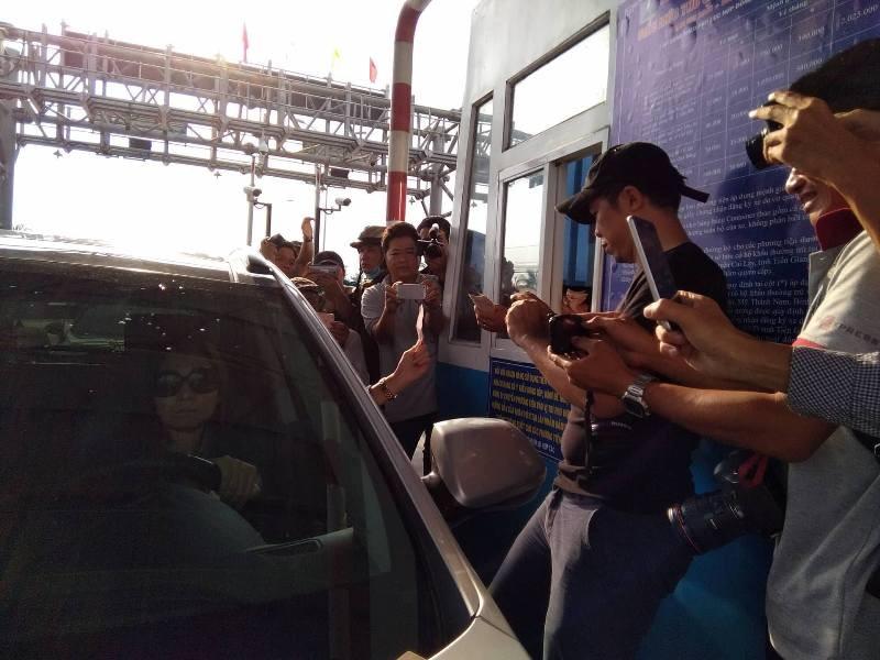 Nữ tài xế khiến BOT Cai Lậy 'thất thủ' xả trạm lần 7 - ảnh 1