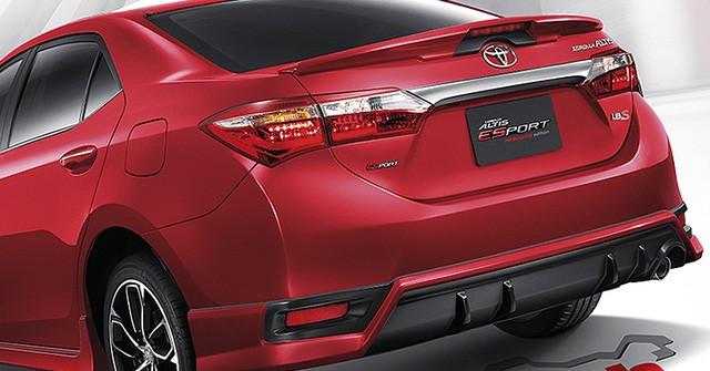 Ra mắt tại Thái Lan, Toyota Corolla Altis 2016 chẳng có gì mới? - ảnh 6