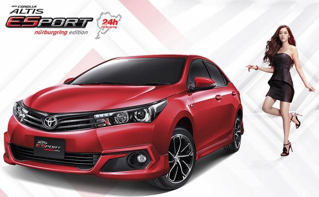 Ra mắt tại Thái Lan, Toyota Corolla Altis 2016 chẳng có gì mới? - ảnh 3